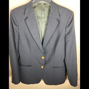 Blue women's blazer